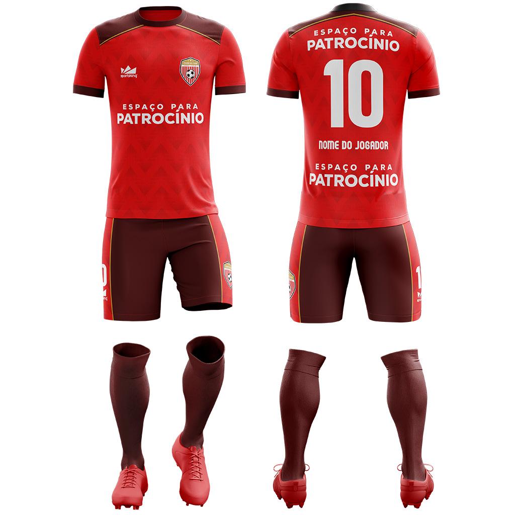 Kit Futebol Amador 50842aa204ed7